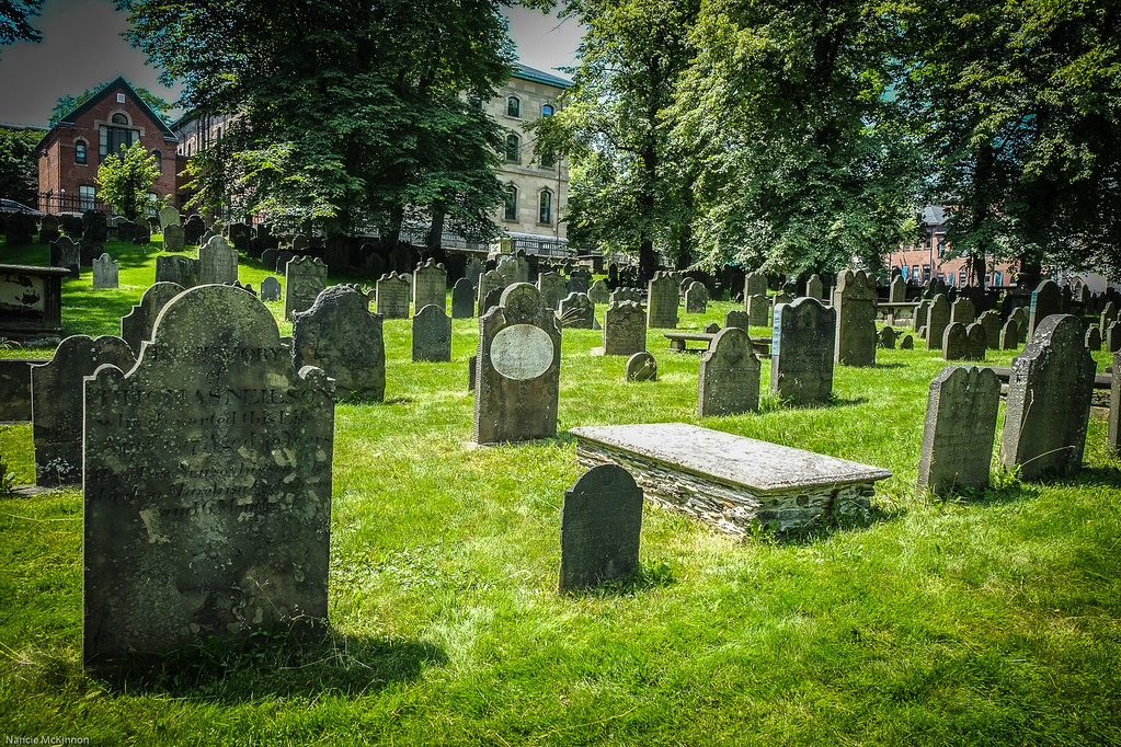 Old Burial Ground, Halifax,Nova Scotia