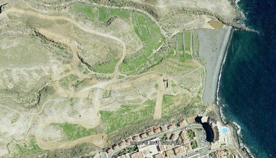 antes, urbanismo, foto aérea, desastre, urbanístico, planeamiento, urbano, construcción,Oasis del Sur, Tenerife, Santa Cruz de Tenerife