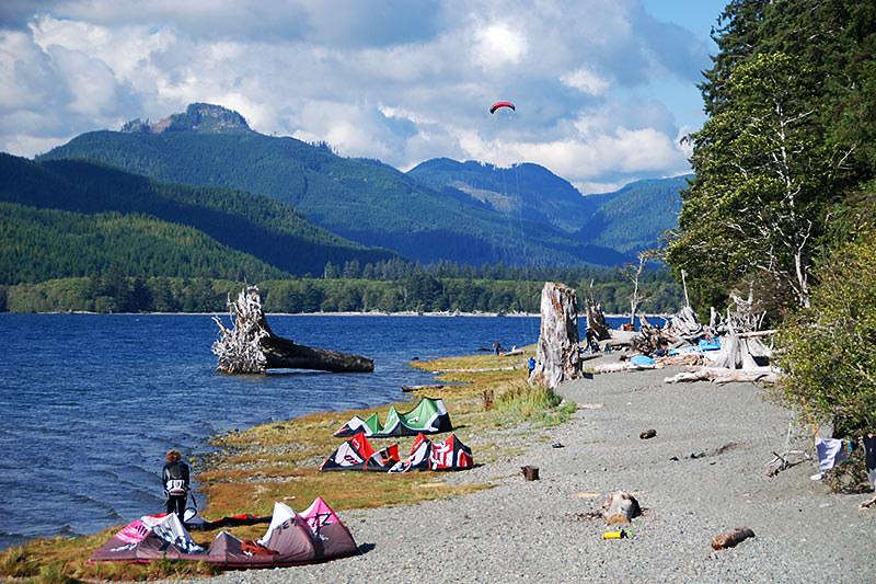 Nitinat Lake, Vancouver Island, British Columbia, Canada