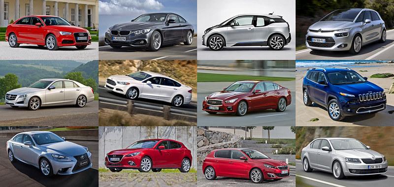 Участники конкурса Всемирный автомобиль года (World Car of the Year)