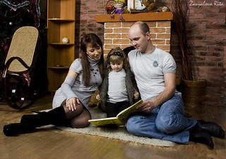 Фотография Семья Семейный фотосет