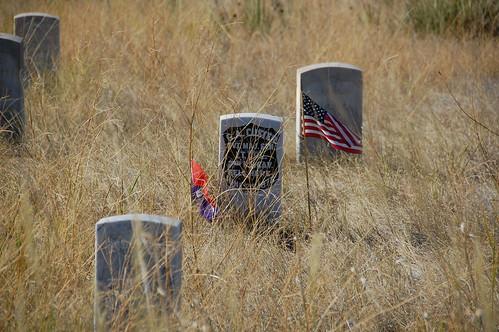 General Custer's Grave Little Big Horn