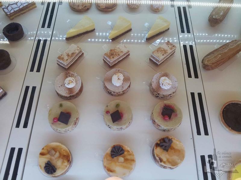 Pasteles franceses en Colette
