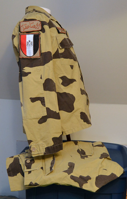 Egyptian Army Thunderbolt Camouflage Uniform 13317321105_058cc453bc_c