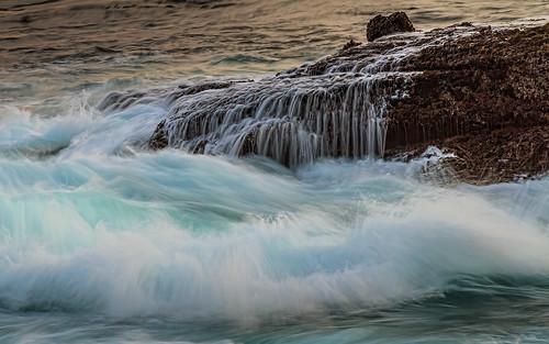 ocean california ca sunset wet canon rocks surf pacific splash pointlobos