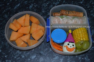 Another Rice Paper Roll Bento