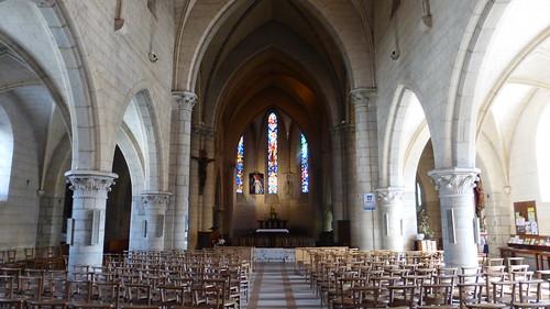 070 L'église Saint-Jean-l'Évangéliste, La Haye-du-Puits