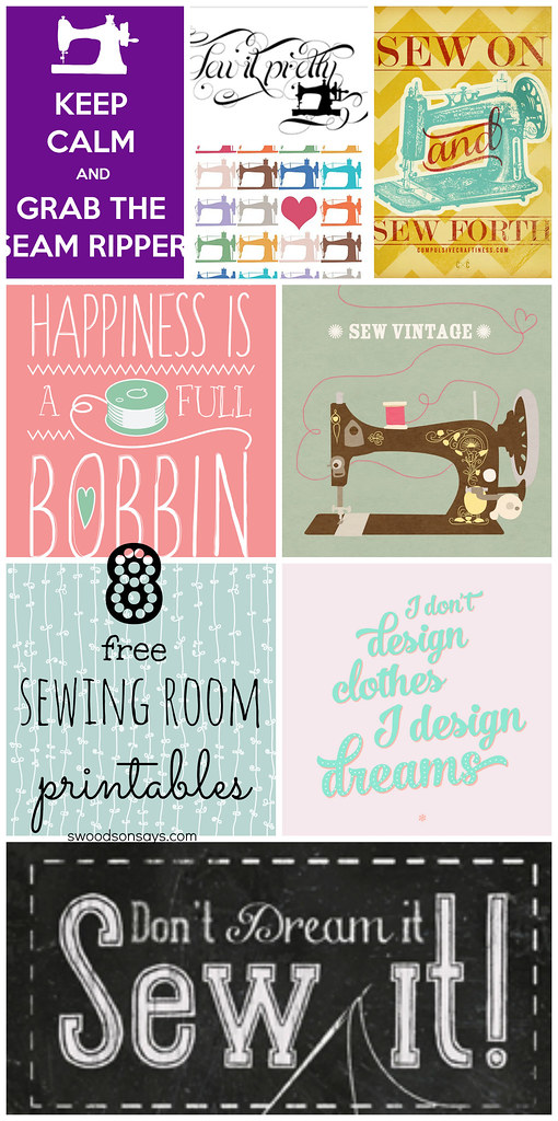 free sewing printables