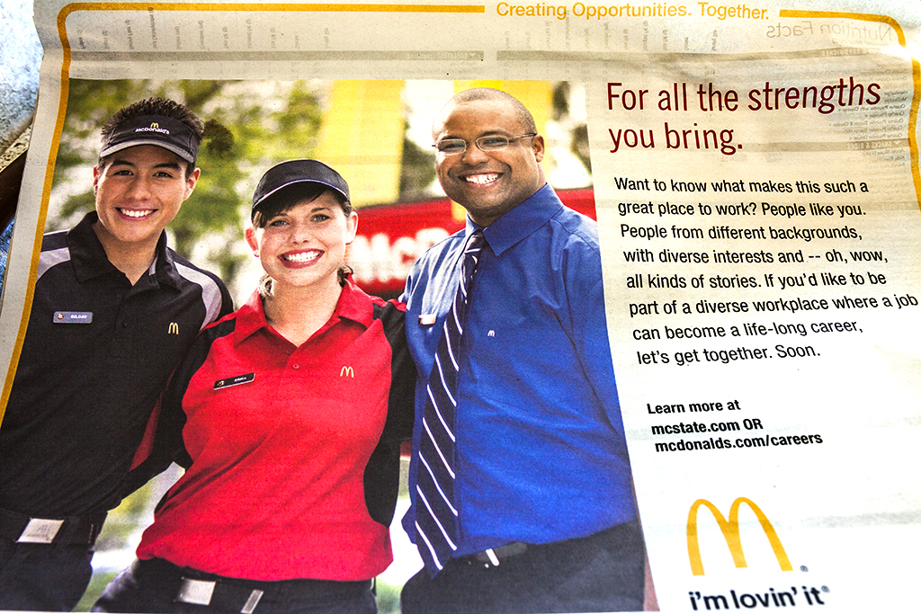 McDonald's-tray-liner--Bensalem-Township