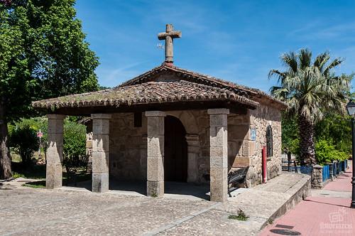 La ermita del Santísimo Cristo de la buena muerte en Villanueva de la Vera