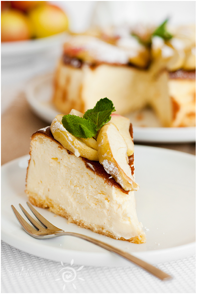Sūrio pyragas su obuoliais (8)