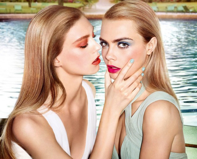 YSL-Summer-2014-Makeup-Collection-Cara-Delevinge