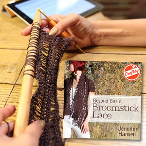 Broomstick Lace On Craftsy