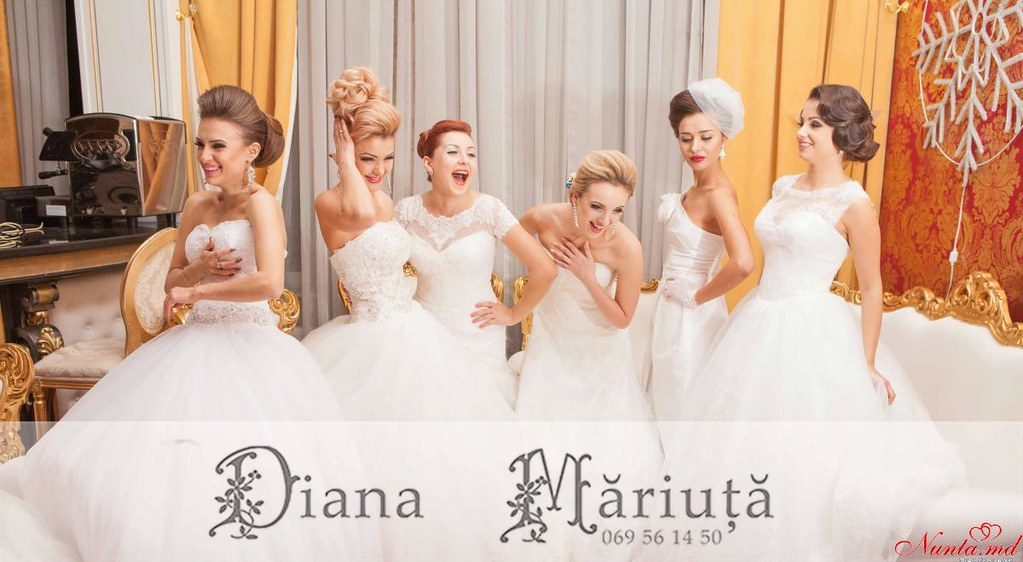 Coafuri perfecte pentru mirese deosebite de la Diana Măriuţă > Foto din galeria `printese adevarate`