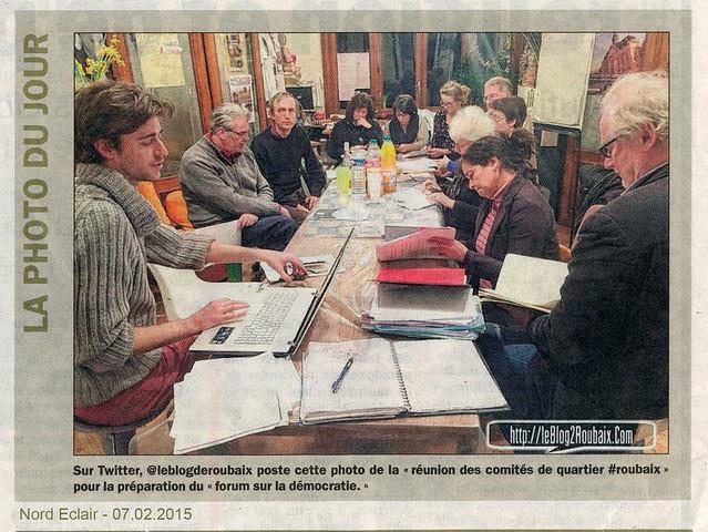 Comités de quartier Roubaix : forum e-démocratie