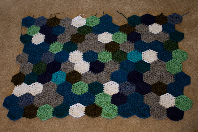 Hexagon Afghan Progress