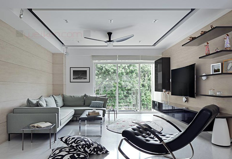 Living Room Floating Shelves Are Always The Choice For Minimalist Design