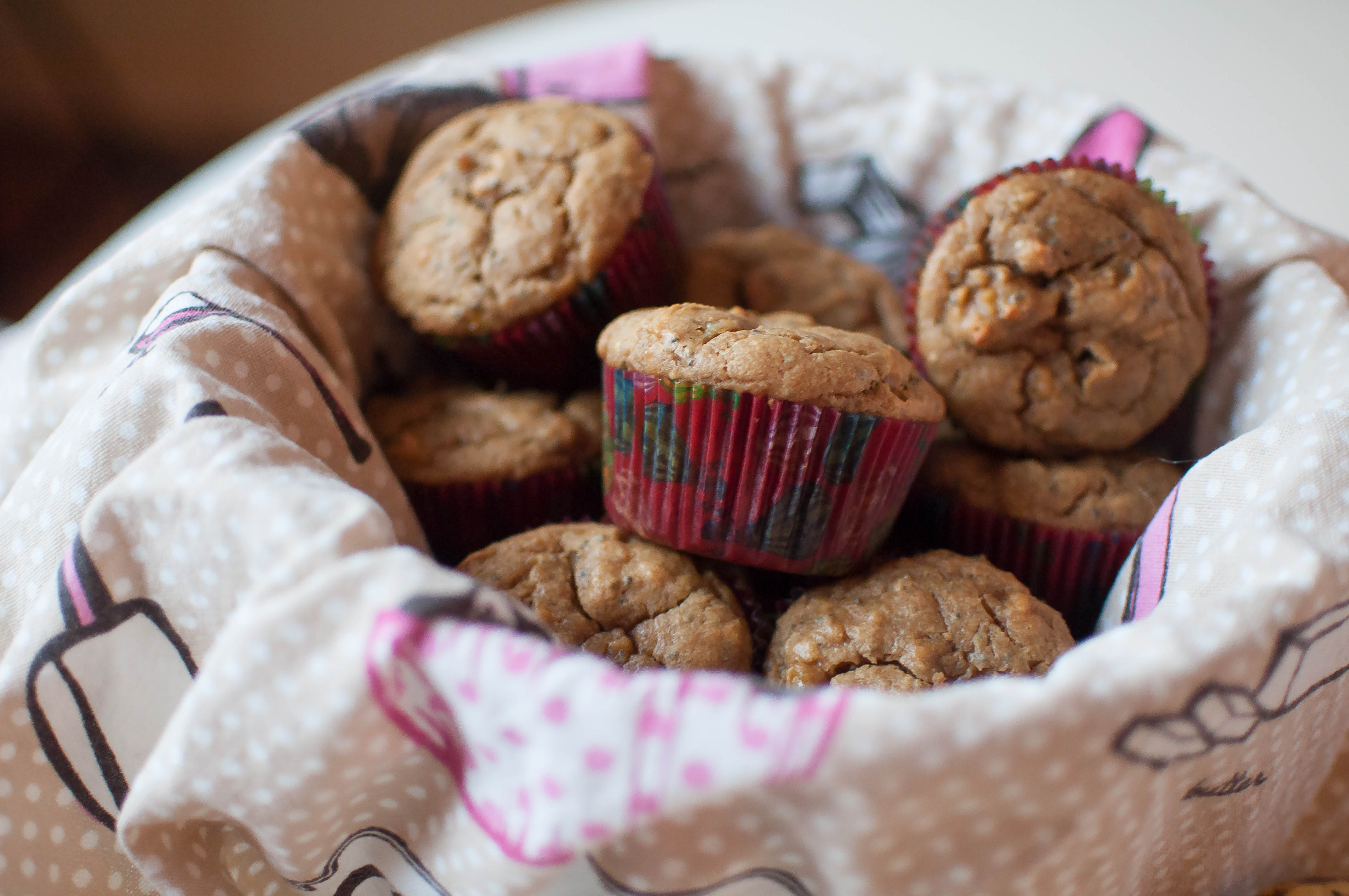 Peanut Butter Banana Muffins {gluten and dairy free) 3
