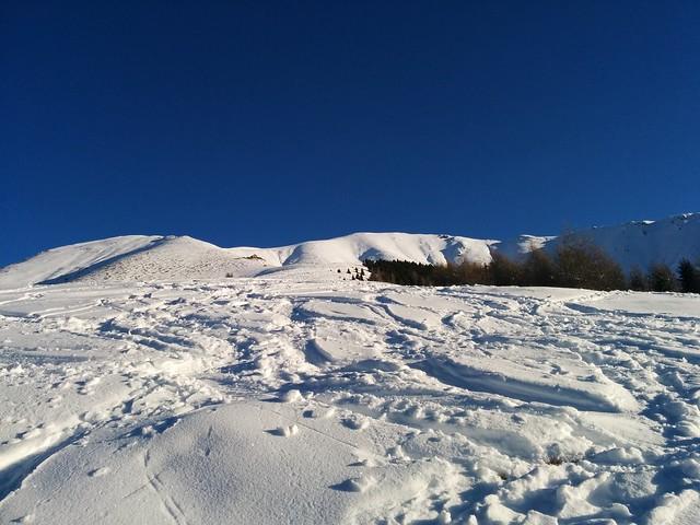 Bonnerhütte und Toblacher Pfannhorn in Sicht