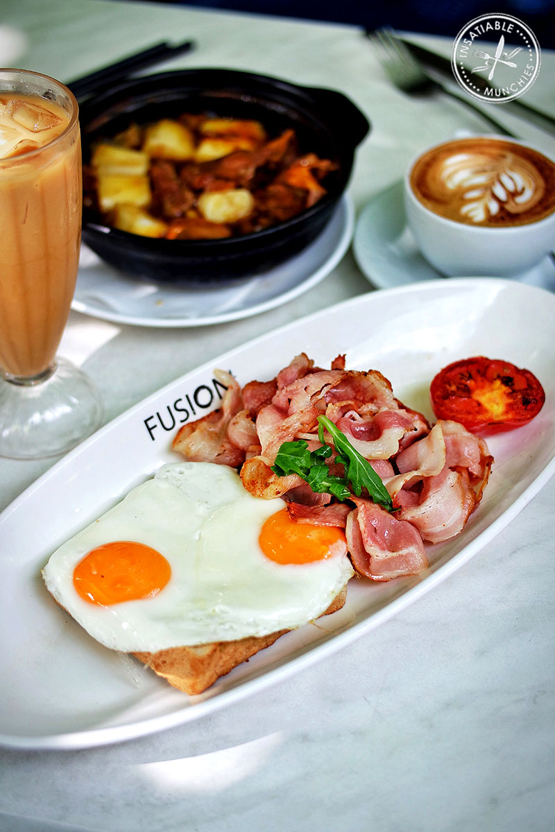 Traditional Breakfast at Fusion Cafe in Eastwood