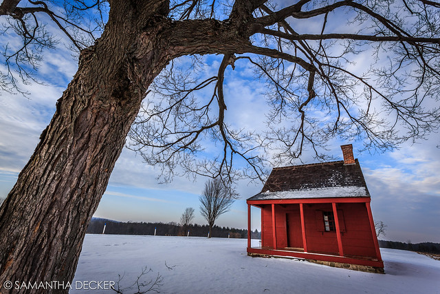 The Neilson House in Winter