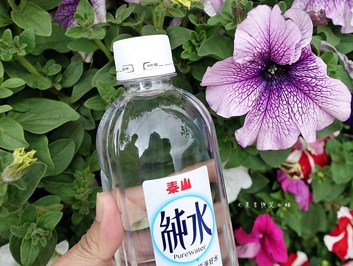 8 泰山純水不脫落瓶蓋好便利,伴我輕鬆旅遊趣!