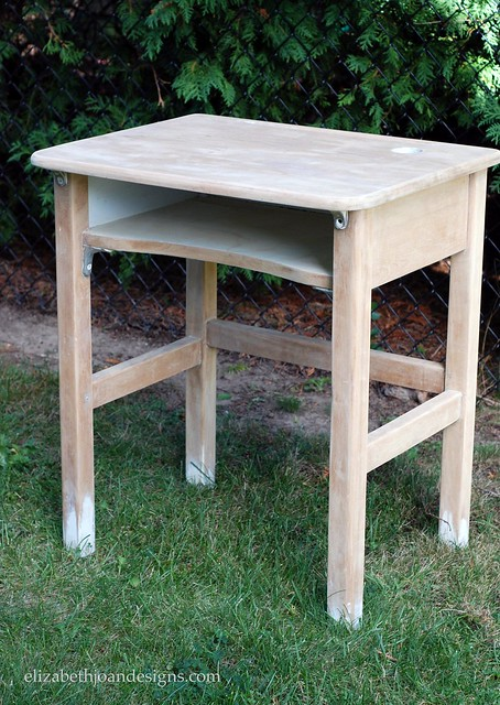DIY Vintage School Desk Redo