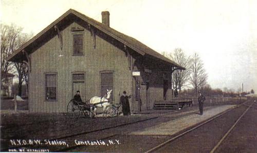 O & W RR Station, Constantia, NY