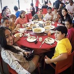 Mother's Day Lunch... For Nanay, na Nanay for all seasons (pati sa mga apo at apo sa tuhod) na hanggang ngayon ay walang sawa kaming inaalagaan at pinagsisilbihan... We love you Nay and we will be forever be grateful for the love and sacrifices -- Happy