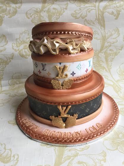 Anna Guza's LV Cake