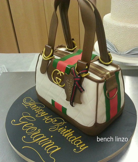 Ben Linzo's Beautiful Handbag Cake