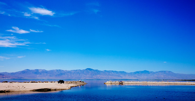 The Salton Sea from the North Shore Marina