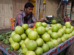 Guava seller