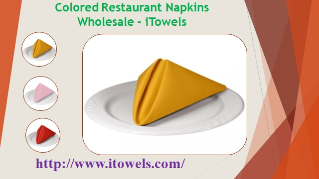 Wholesale Napkins for Restaurants - iTowels