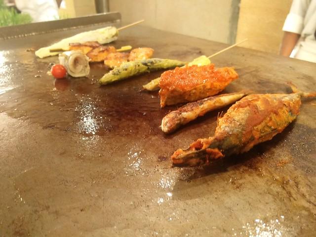 Choice Of Sea Food On Grills