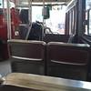 Inside a #Toronto #QueenStreet #streetcar
