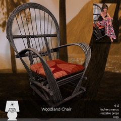 [Park Place] Woodland Chair - Midsummer Night's Dream Hunt