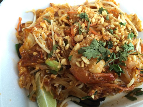 Costco Food Truck Park featuring Thai Mee Up