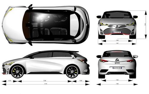 AS Gooo... Le sue dimensioni!  #conceptcar #cardesign #asmotors #automotive #sketch #asgooo