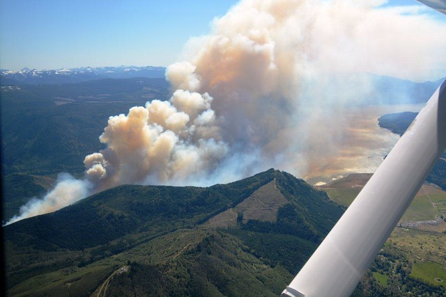 Dog Mountain Wildfire