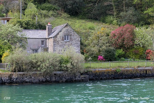 King Harry Ferry, River Fal, Cornwall by Stocker Images