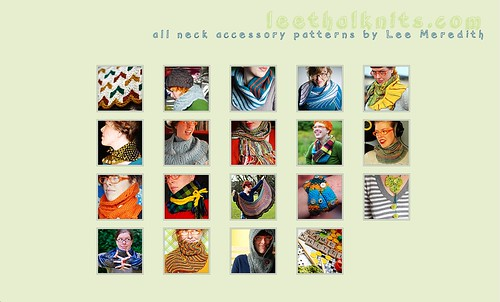 screenshot of leethalknits.com makeover!