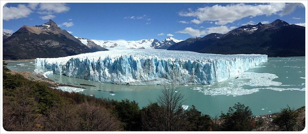 perito moreno glacier full panorama
