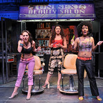 Merissa Haddad, Alessandra Valea, and Jasmine Knight in a scene from the SpeakEasy Stage Company production of IN THE HEIGHTS, extended now thru June 16 at the Stanford Calderwood Pavilion at the Boston Center for the Arts, 527 Tremont Street in Boston's South End.  Tix/Info:  617-933-8600 or www.SpeakEasyStage.com</a>.  Photo:  Craig Bailey/Perspective Photo.