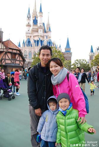 迪士尼城堡全家福(2)