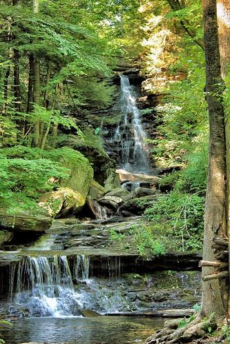 usa waterfall