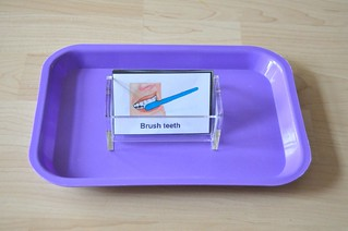 Toothbrushing Sequence Cards