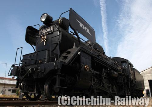 2013わくわく鉄道フェスタ☆C58新デフ(後藤工場タイプ)展示&運転