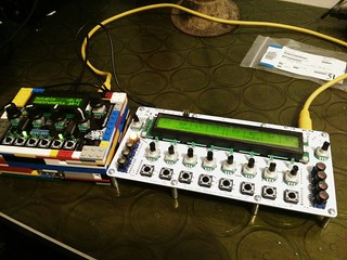 finished midiALF DIY step sequencer