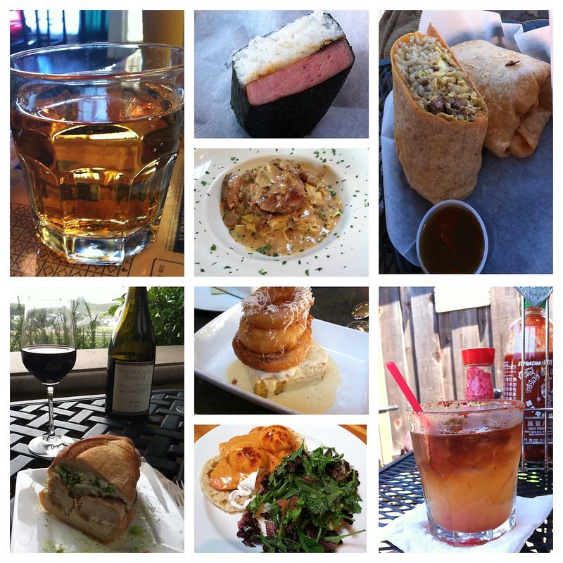 Food: Sonoma to Santa Cruz